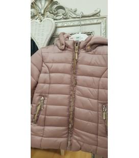 Abrigo rosa empolvado para bebè, Trybeyond