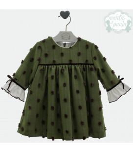 Vestido, de Marta y Paula. Coleccion Nina Inv21