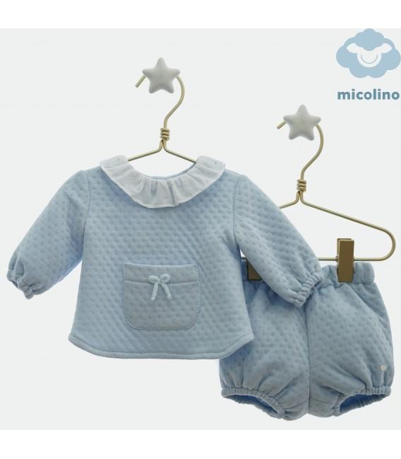 Conjunto jersey y pololo, Micolino Inv.20.
