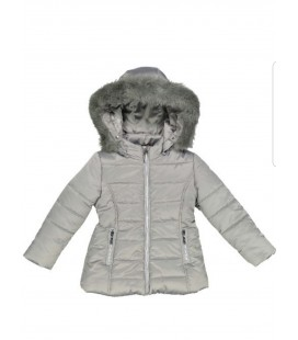 Abrigo gris para niña, Trybeyond.