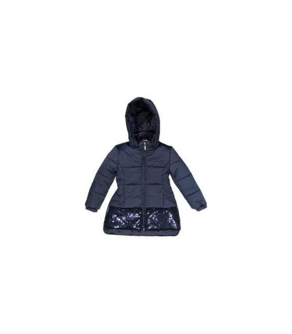 Abrigo azul marino para niña, Trybeyond